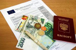 шенген документы